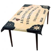 Ouija Board Table Cloth & Planchette Coaster